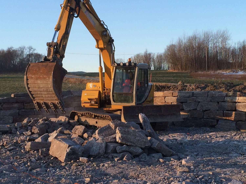 graving trond aune maskinstasjon Åfjord og fosen