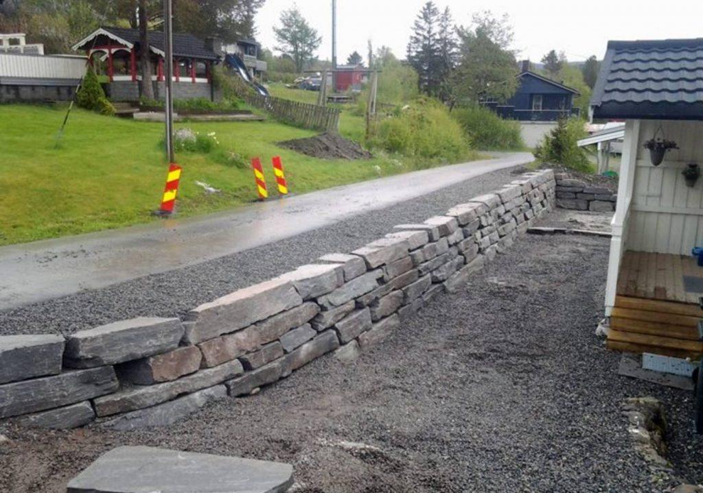 Naturstein Muring Åfjord